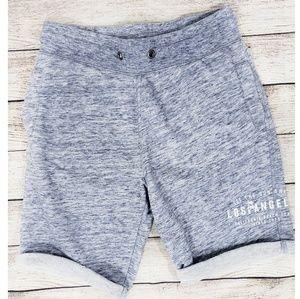 H&M Boys Blue/White Cut Off Sweat Shorts